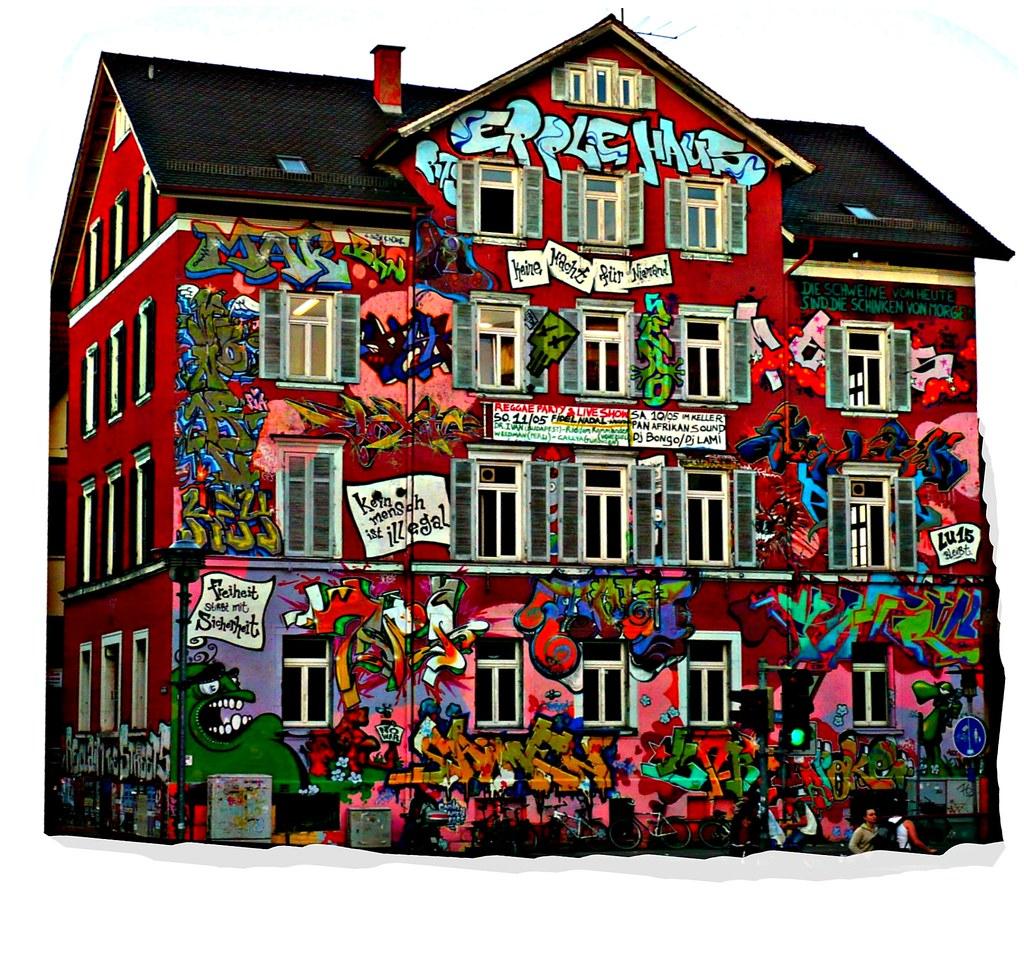 Tübingen | 40 Jahre Epple - Haus : Jugendzentrum e. V. , K… | Flickr
