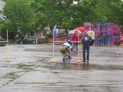 Standard bike limbo
