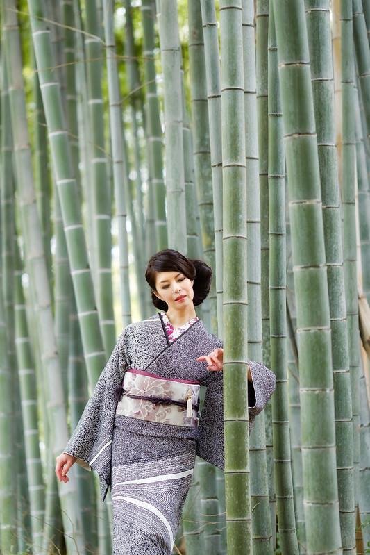 Bamboo forest ( Cocoro Kusano )
