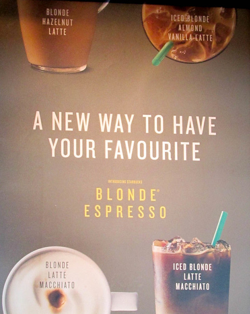 Intel About Starbucks' Blonde Hazelnut Latte