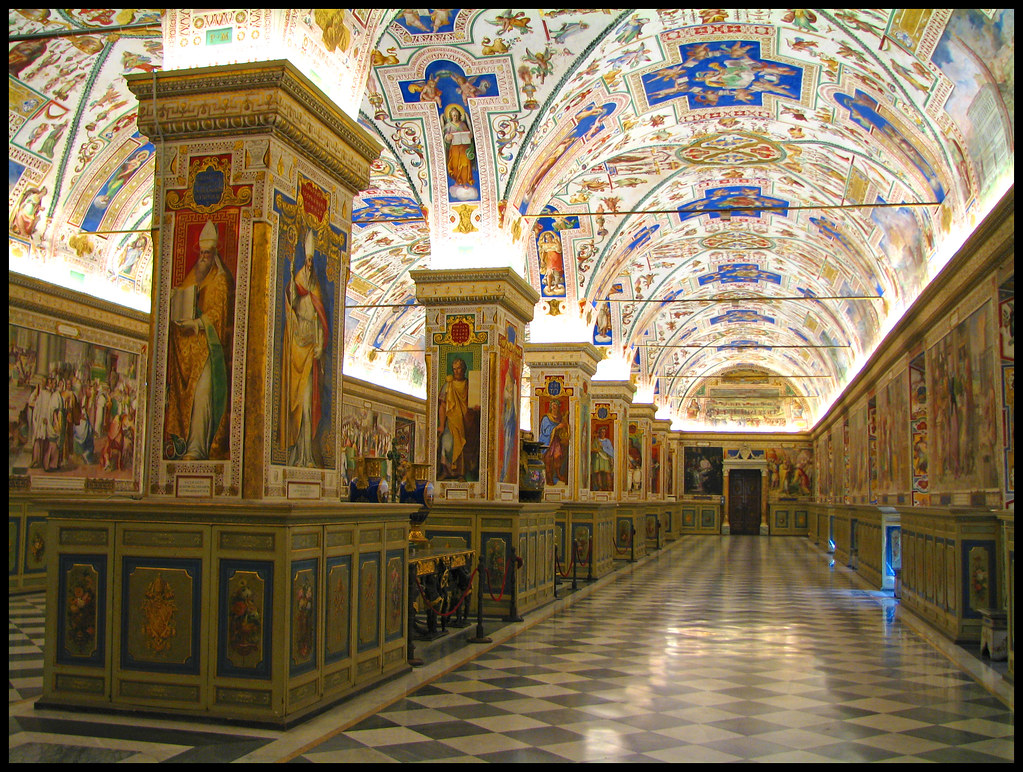 the sistine hall of the vatican library the vatican librar flickr. Black Bedroom Furniture Sets. Home Design Ideas