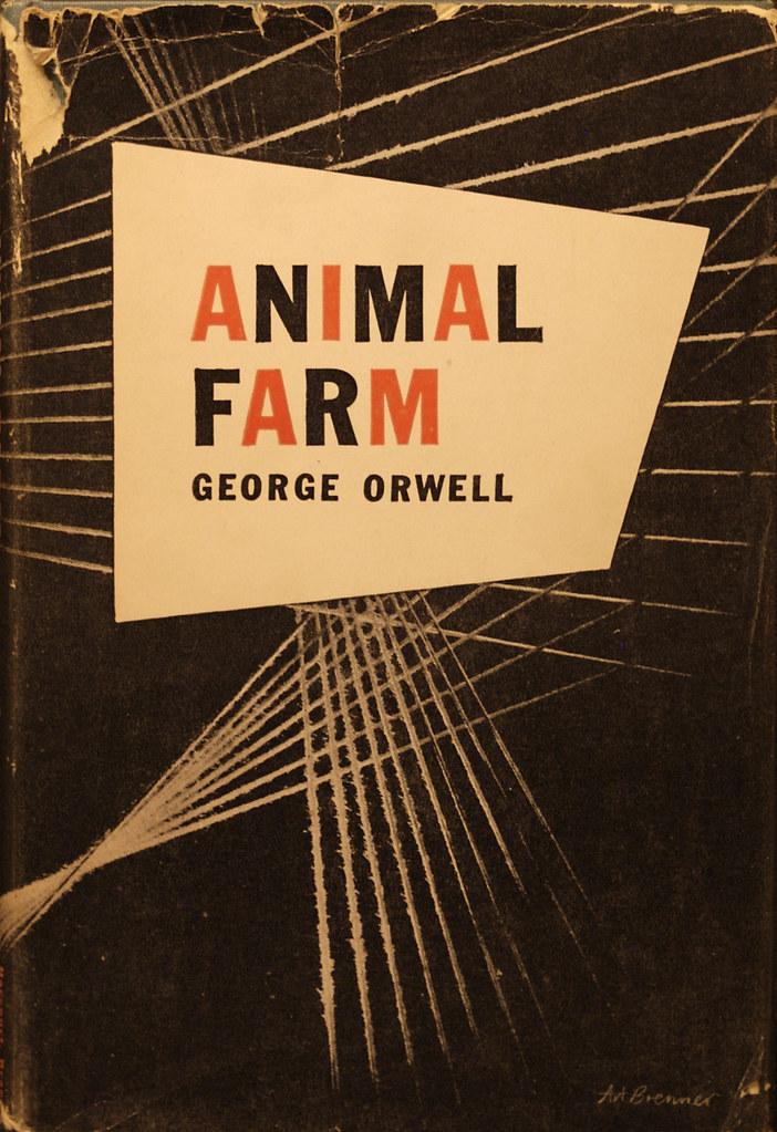 Book Cover White Zinfandel : Animalfarm jacket design by art brenner karen