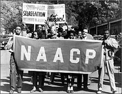 NAACP anti-segregation...