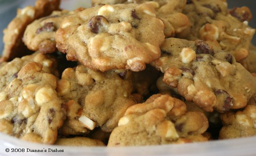 Double Chocolate Chip Cookies With Cashews | by Dianne's Dishes