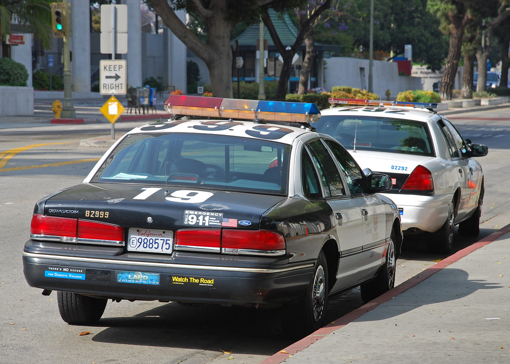 Lapd Mid 1990s Ford Crown Victoria Of The Lapd In