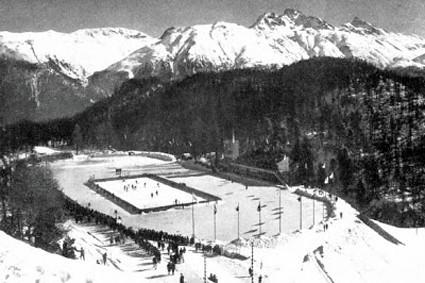 St Moritz 1928 Olympic hockey 2