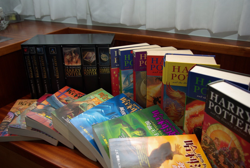 harry potter series pdf free