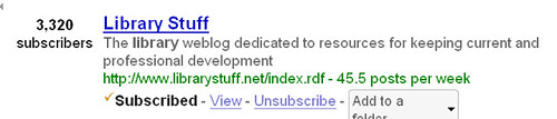 Google Reader Stats | by stevenmcohen