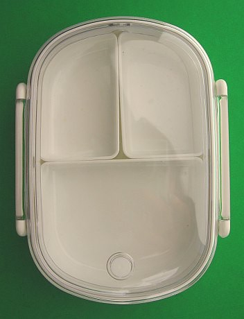 490ml Asvel bento box with steam vent | by Biggie*