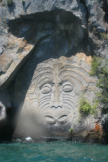 Maori carvings lake taupo flickr photo sharing