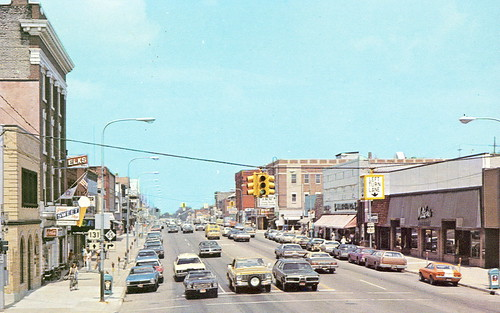 wexford cadillac mi downtown view of mitchell street 1960s. Cars Review. Best American Auto & Cars Review