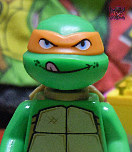 "LEGO TEENAGE MUTANT NINJA TURTLES :: ""Mikey's Mini-Shellraiser"" v (( 2014 ))"