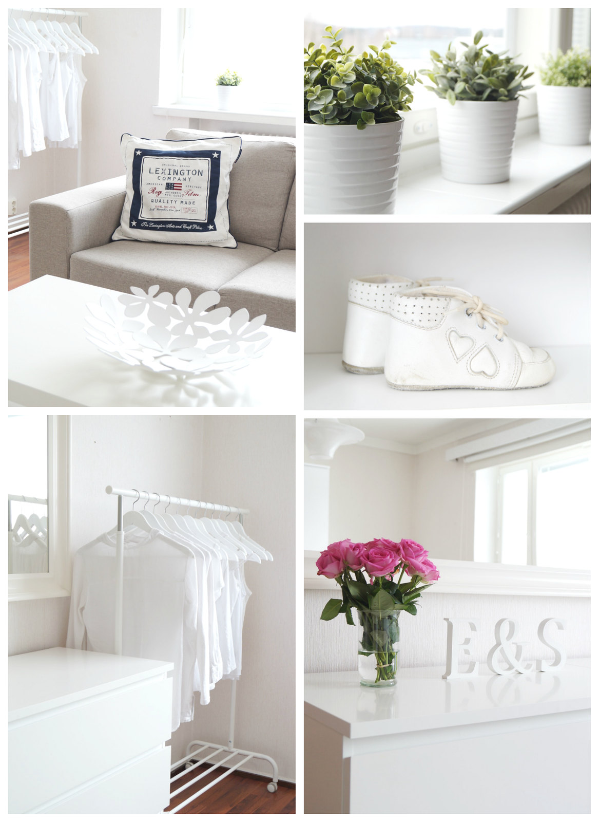 White decoration