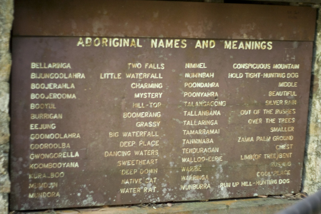 Aboriginal Names And Meanings Dylan Fogarty Macdonald