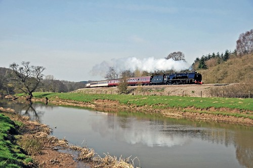 LMS Duchess of Sutherland 6233 near Malton | by FlyingScotsman4472
