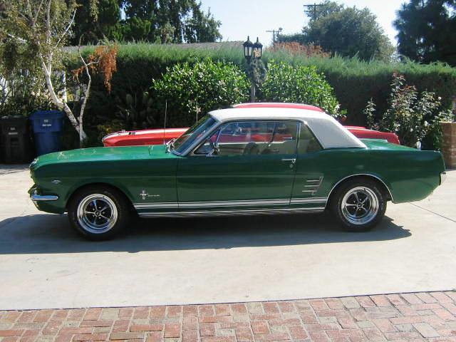 1966 Mustang Coupe 66 Mustang Coupe 1966 And 1967