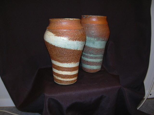 Jarrones gres torno pieza nica taller de cer mica - Jarrones de ceramica ...