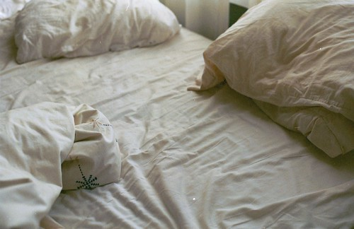 white bed | by *amisha*
