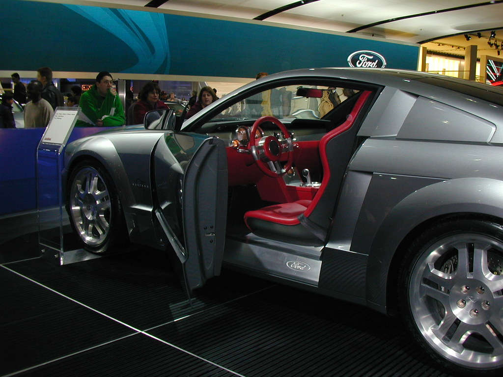 2005 mustang concept car interior 2 interior view of the c flickr. Black Bedroom Furniture Sets. Home Design Ideas