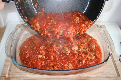 54 - Masse in Auflaufform geben / Put in casserole