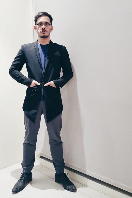 halfwhiteboy asymmetrical blazer 02