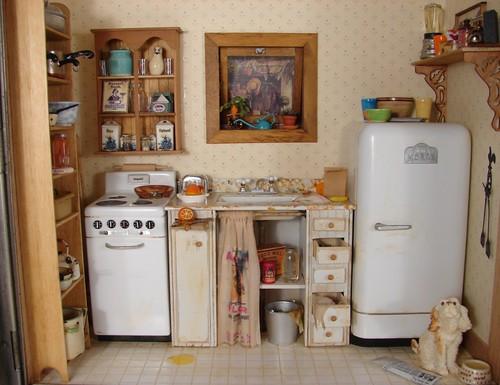 Miniature Kitchen Scene 1 12 Scale Miniature Stove And