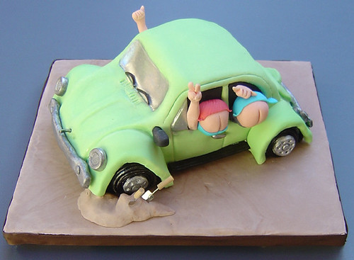volkswagen cake verusca walker flickr