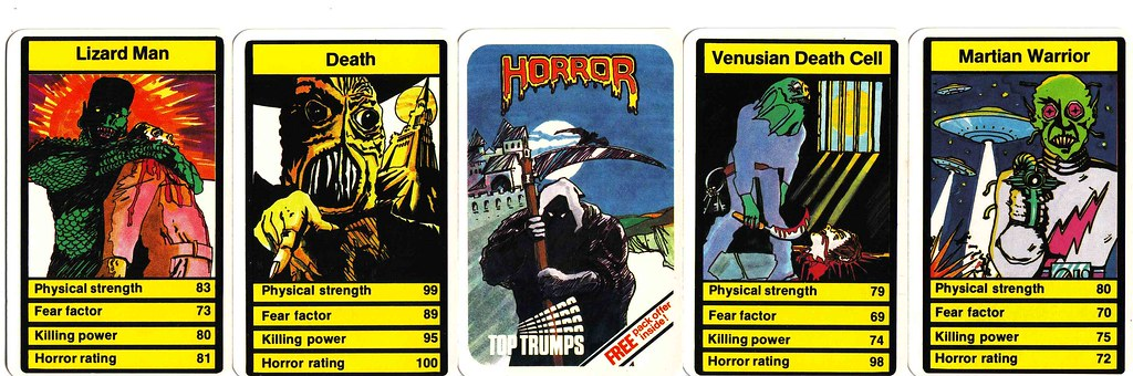 top trumps horror online dating