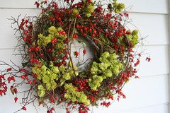rosehips wreath | by ali edwards