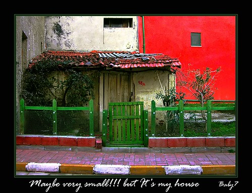Maybe very small!!but it's my house | by baby7