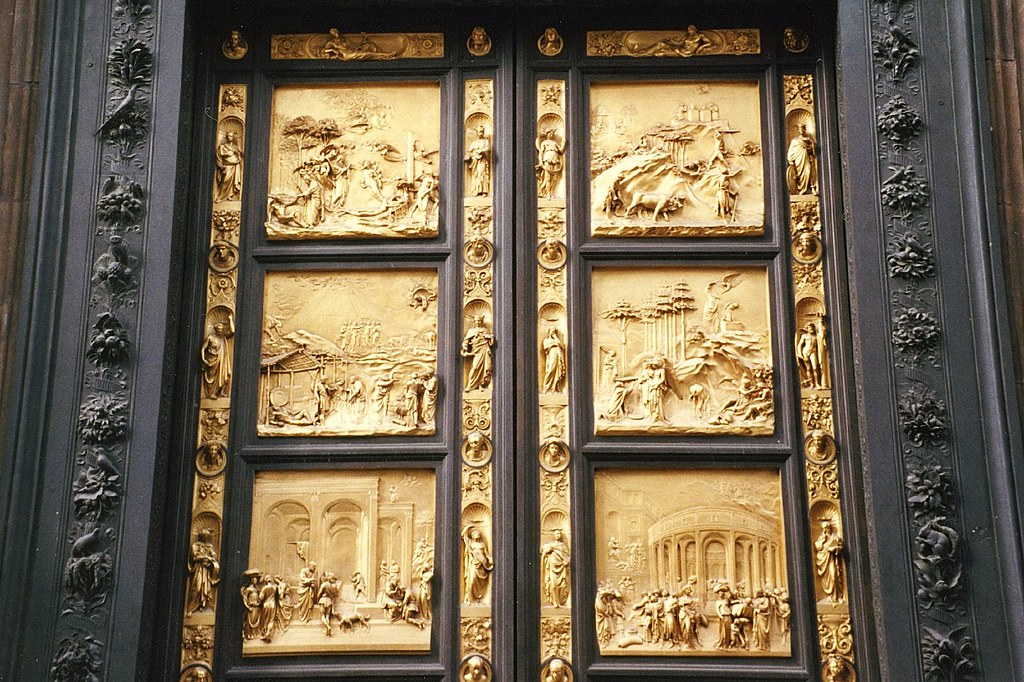 a research on the third set of baptistery doors of lorenzo ghiberti