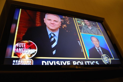 Divisive Politics on Glen Beck CNN Headline News | by Steve Rhodes