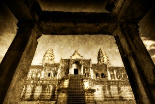 The Back Entrance to Angkor Wat | by Stuck in Customs
