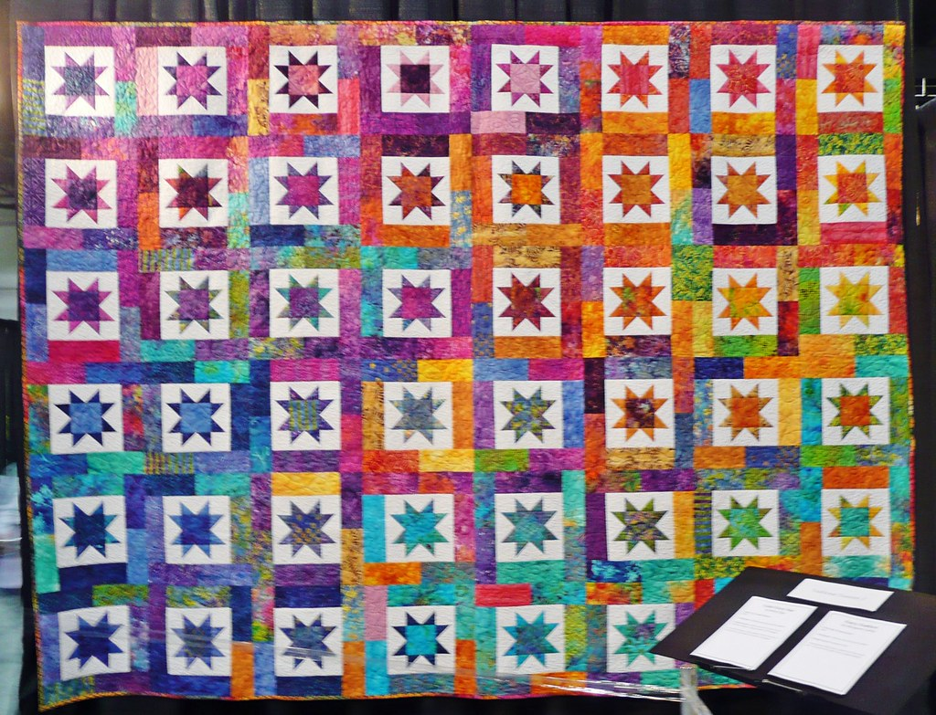 2008 Chicago Quilt Show | Color Every Star by Betty Opp This… | Flickr : quilt show chicago - Adamdwight.com