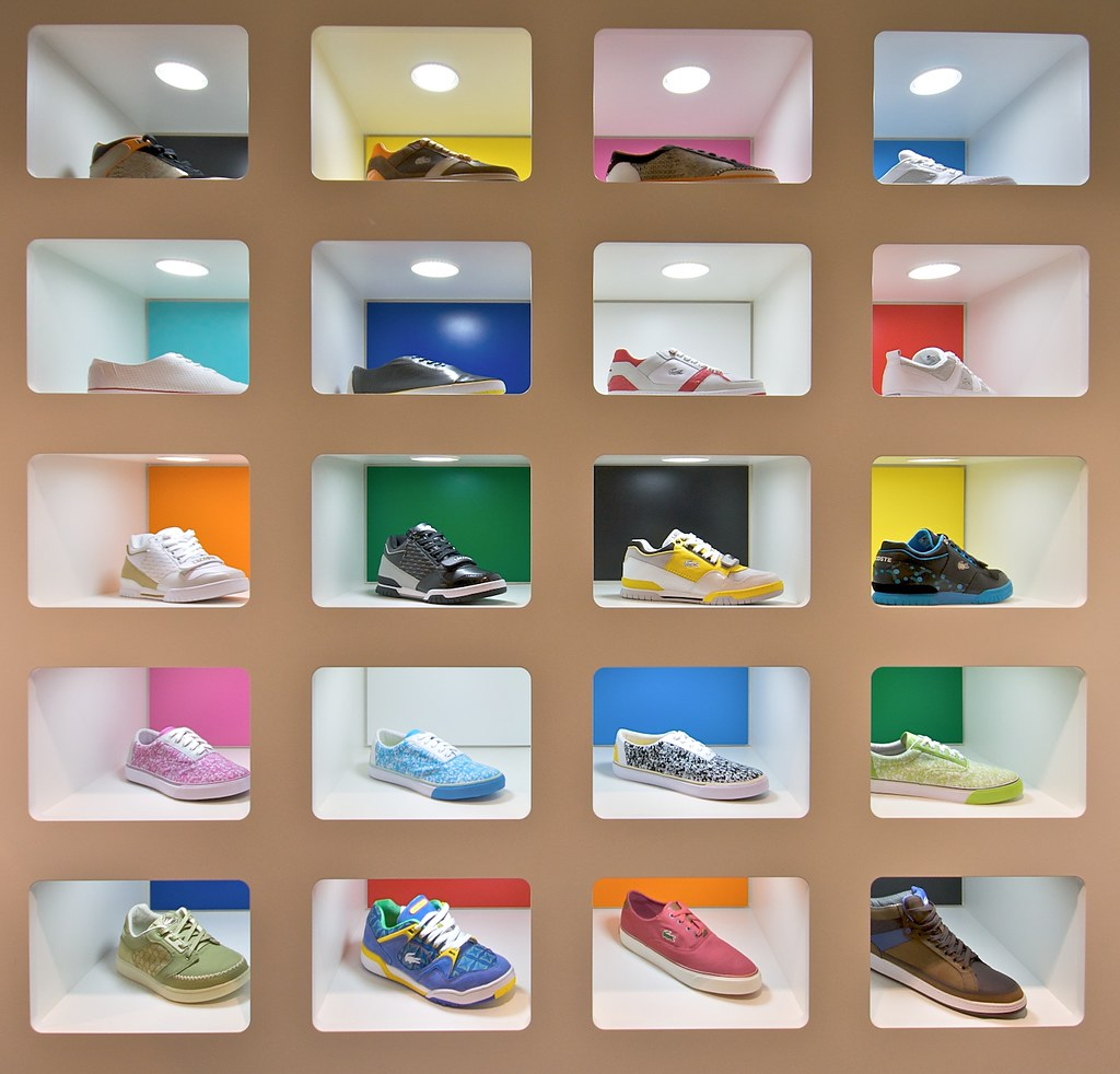 Shoes Conversion Chart: new Lacoste store (Niederdorf) Zurich. | Paul Stocker | Flickr,Chart