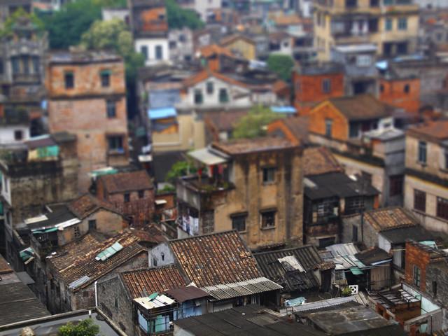広東省広州市の古い街並。参考写真(kevinpoh/flickr)