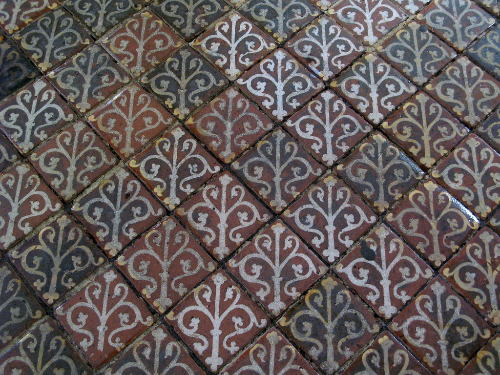 Medieval Floor Tiles | Photos from Winchester Cathedral, Win… | Flickr