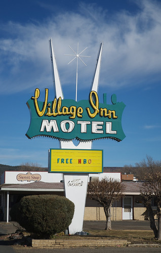 Village Inn, Raton, NM, | by Debora Drower