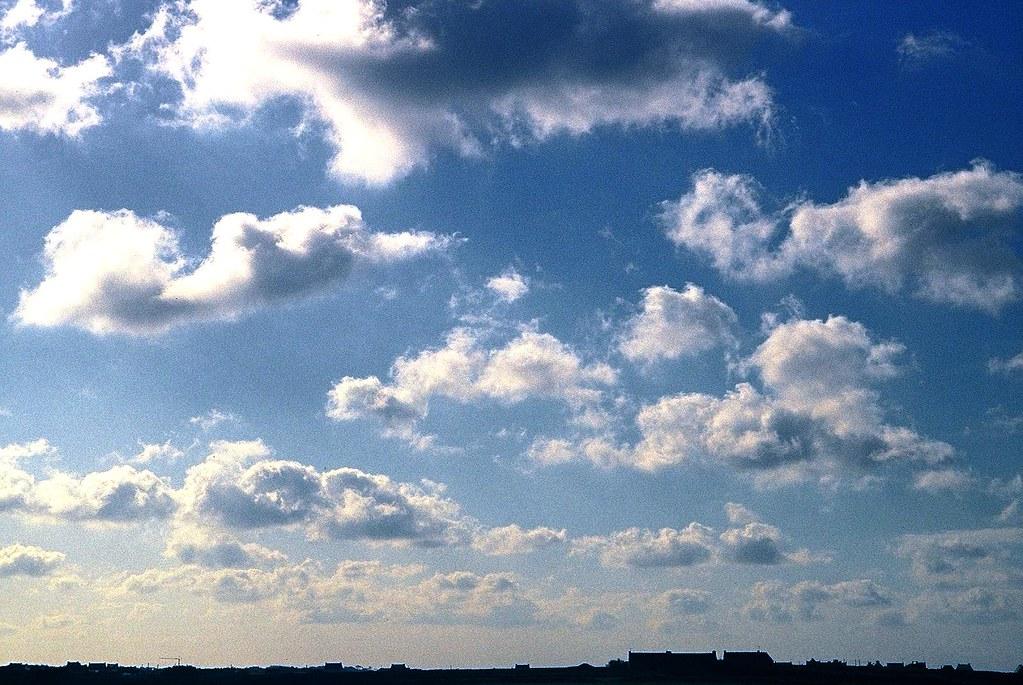 Cumulus Humilis Cumulus Humilis Cloud 22 Km Sw Of