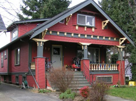 Exterior Color Schemes::Red::Paint Colors for the Historic House ...