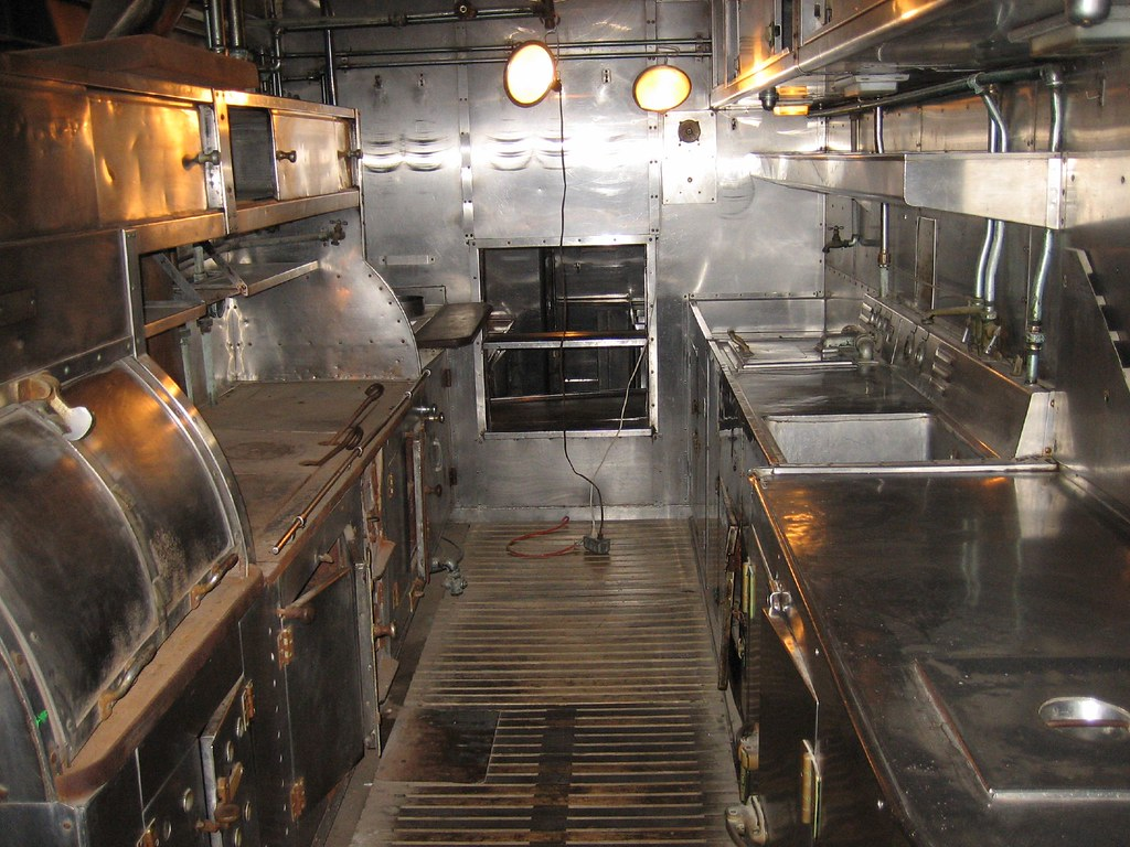 National Railroad Museum >> Kitchen Galley Rail Car - National Railroad Museum- Green ...