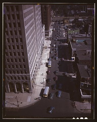 Traffic at 5:30 on Second Avenue, Detroit, Mich.  (LOC) | by The Library of Congress