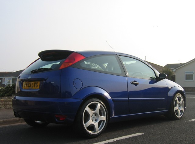2003 ford focus rs turbo superb beautifully prepared car. Black Bedroom Furniture Sets. Home Design Ideas