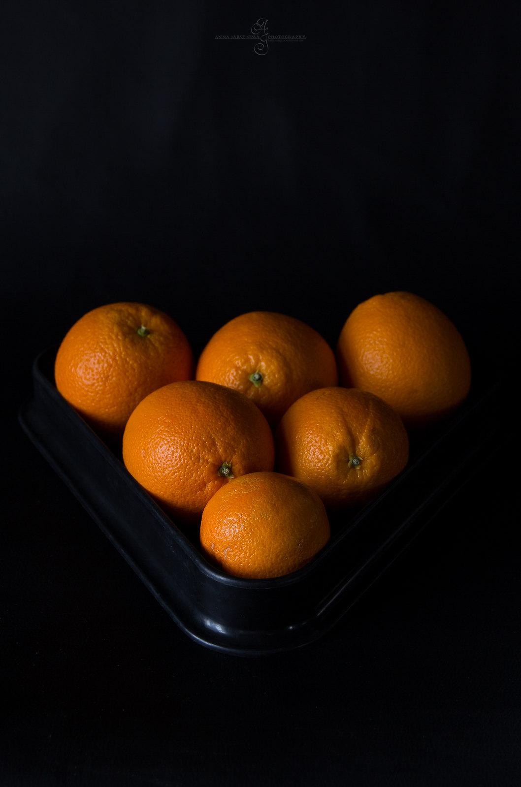 Musta, oranssi, keltainen