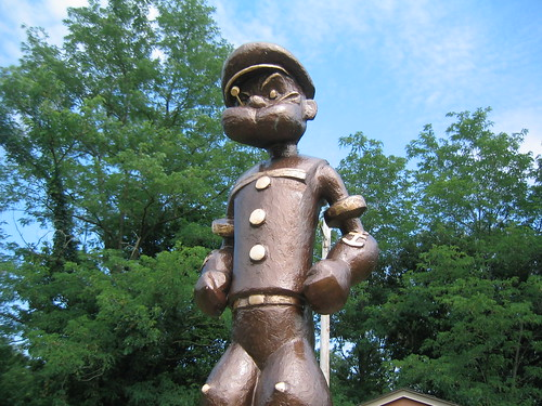 Popeye Statue, Chester, IL | by DClemm