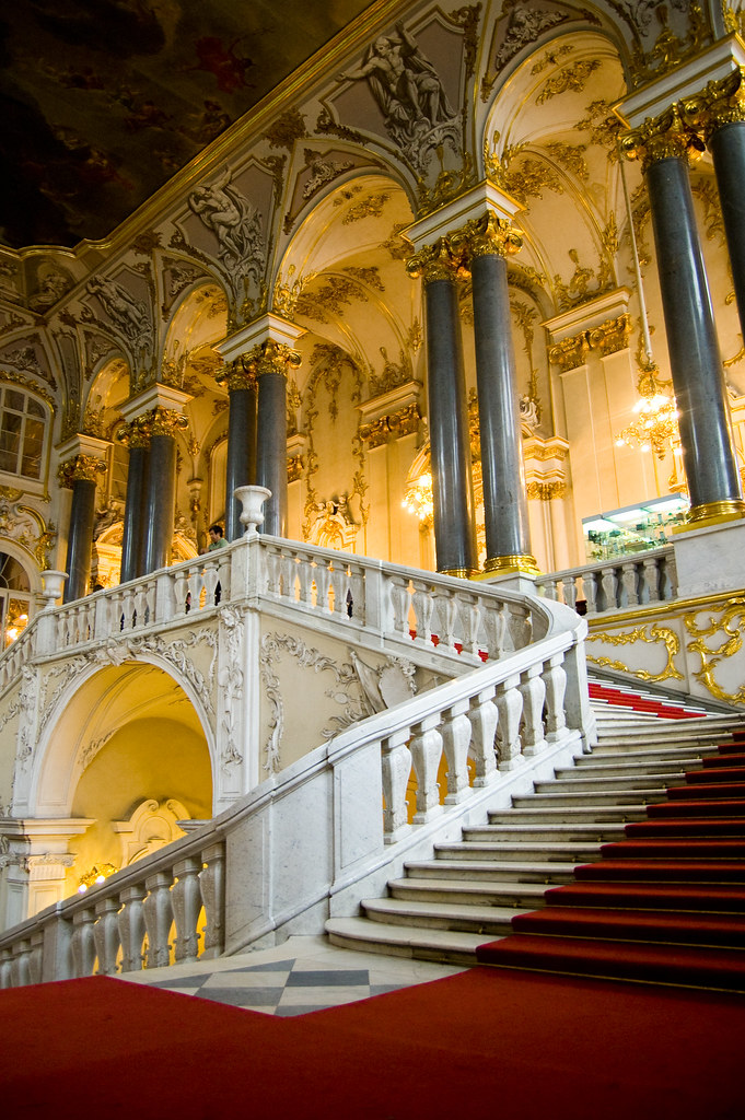 Welcome To The Hermitage The Main Staircase Of The