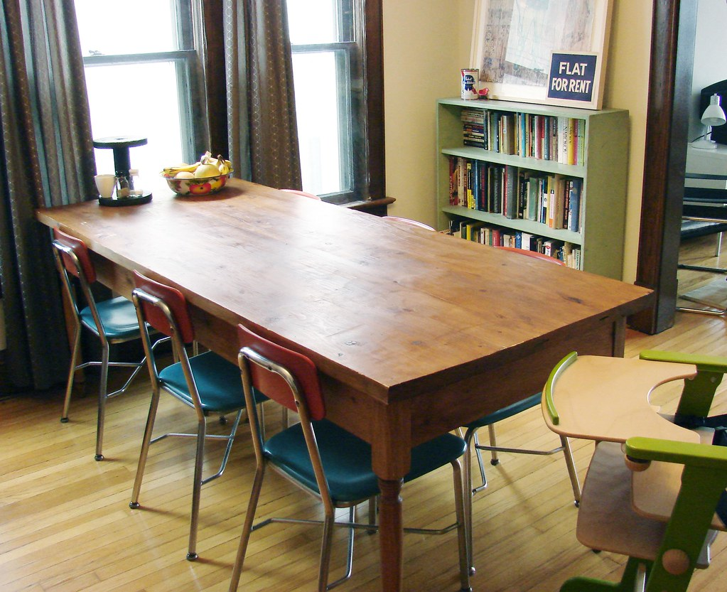 Dining Room Table Built By Our Friend Rachael Chairs Are Flickr