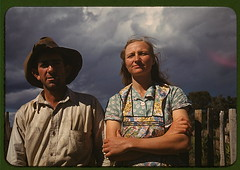 Faro and Doris Caudill, homesteaders, Pie Town, New Mexico  (LOC) | by The Library of Congress