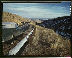 [View along US 40 in Mount Vernon Canyon, Colorado]  (LOC) | by The Library of Congress