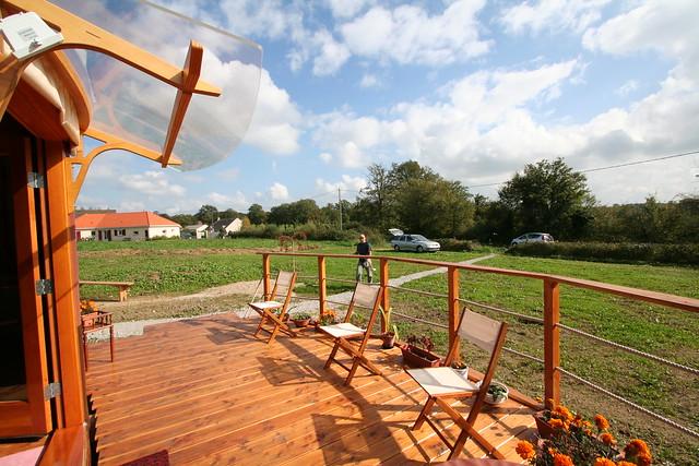 yourte d 39 habitation 038 flickr photo sharing. Black Bedroom Furniture Sets. Home Design Ideas